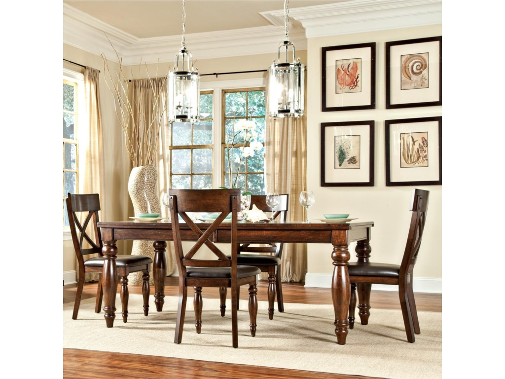 Inner Home CapriceCaprice Table + 4 Chairs
