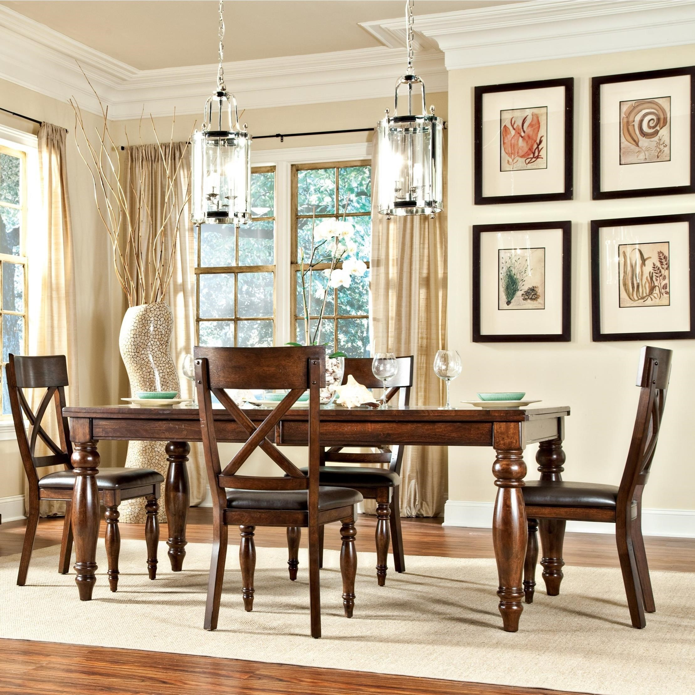 Kingston 5 Piece Table And Chair Set By Intercon At Rifeu0027s Home Furniture