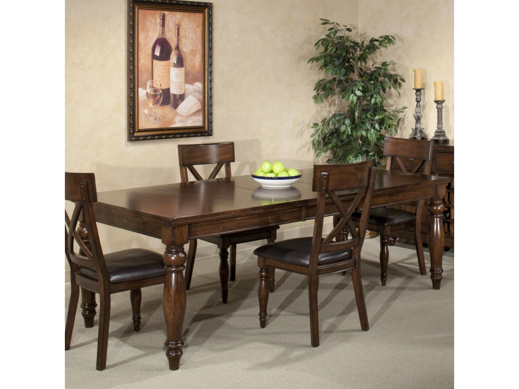 Intercon Kingston Dining Leg Table