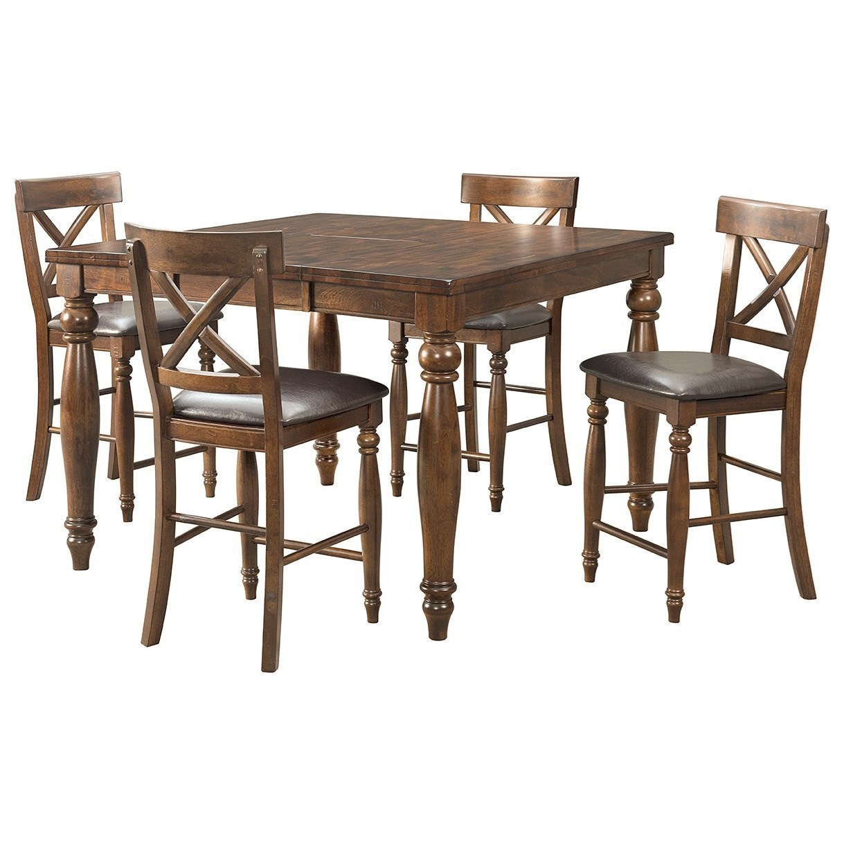 Intercon Kingston 5 Piece Pub Set ...