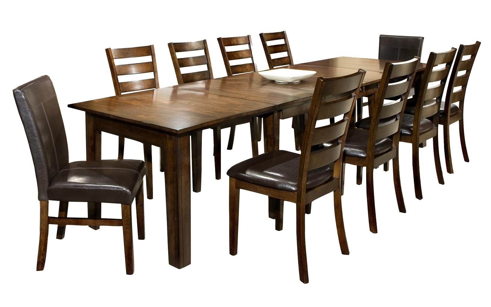 Superb Intercon Kona 11 Piece Dining Set With Table And Chairs