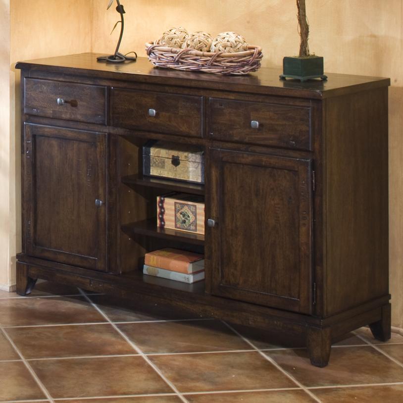 Attractive Belfort Select Cabin Creek Dining Room Serving Table   Belfort Furniture    Servers Part 7