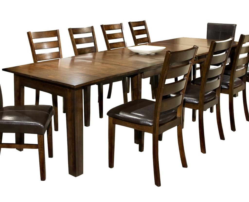 Intercon Kona Dining Table With Three 22 Inch Leaves Hudson S