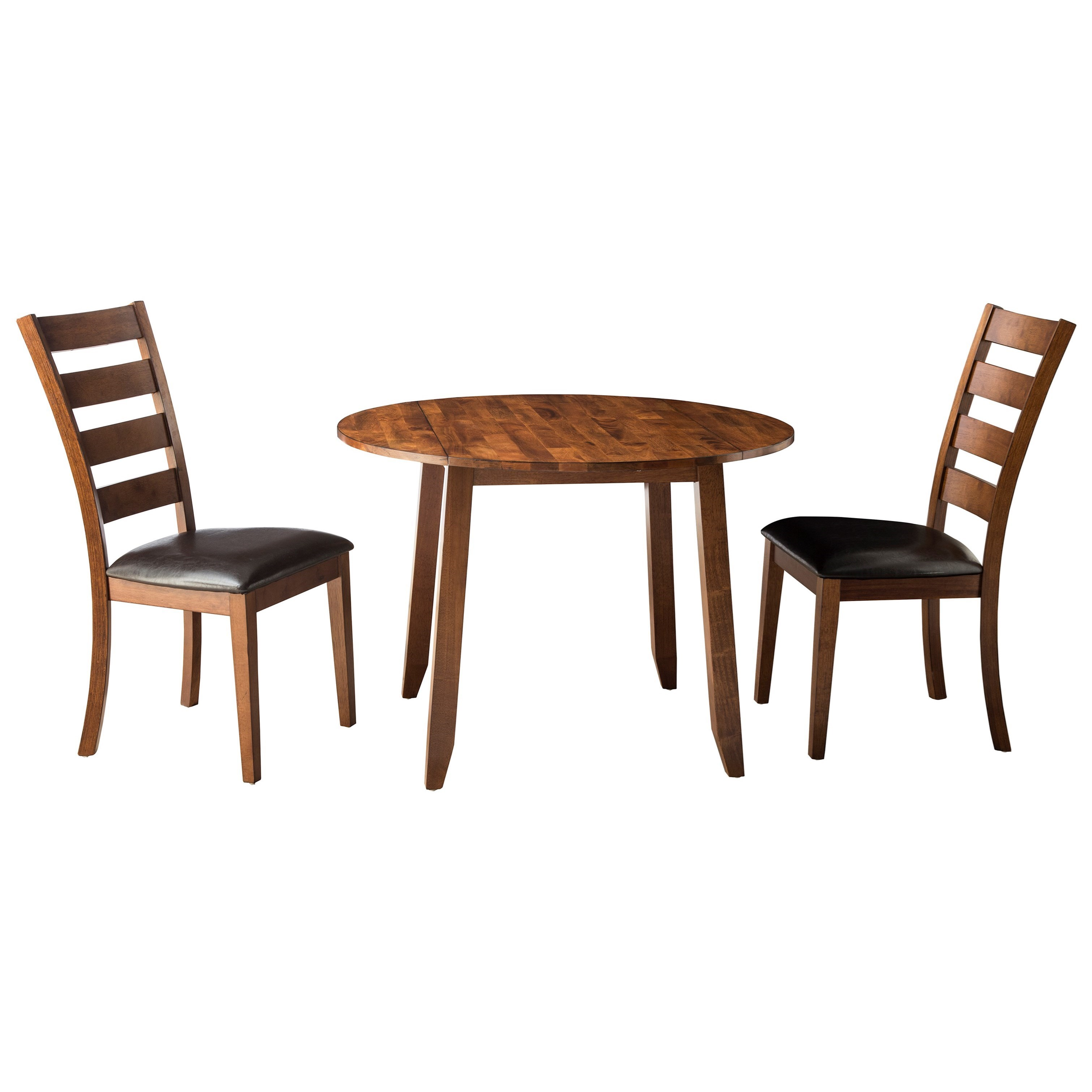 3 piece drop leaf dining set counter height vfm signature konadrop leaf dining table and chair set kona piece drop ladder back