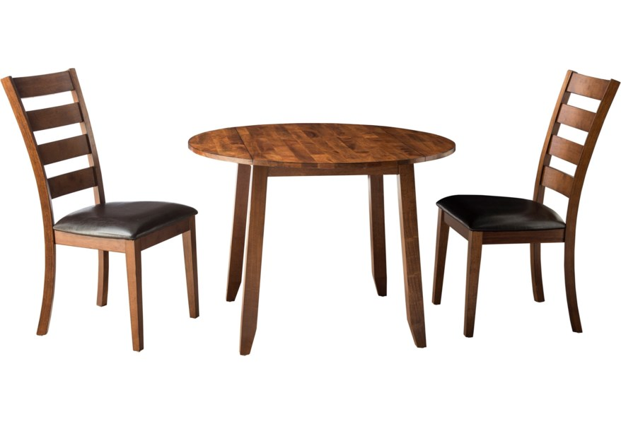 Kona Drop Leaf Dining Table and Chair Set