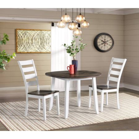 Drop Leaf Dining Table and Chair Set