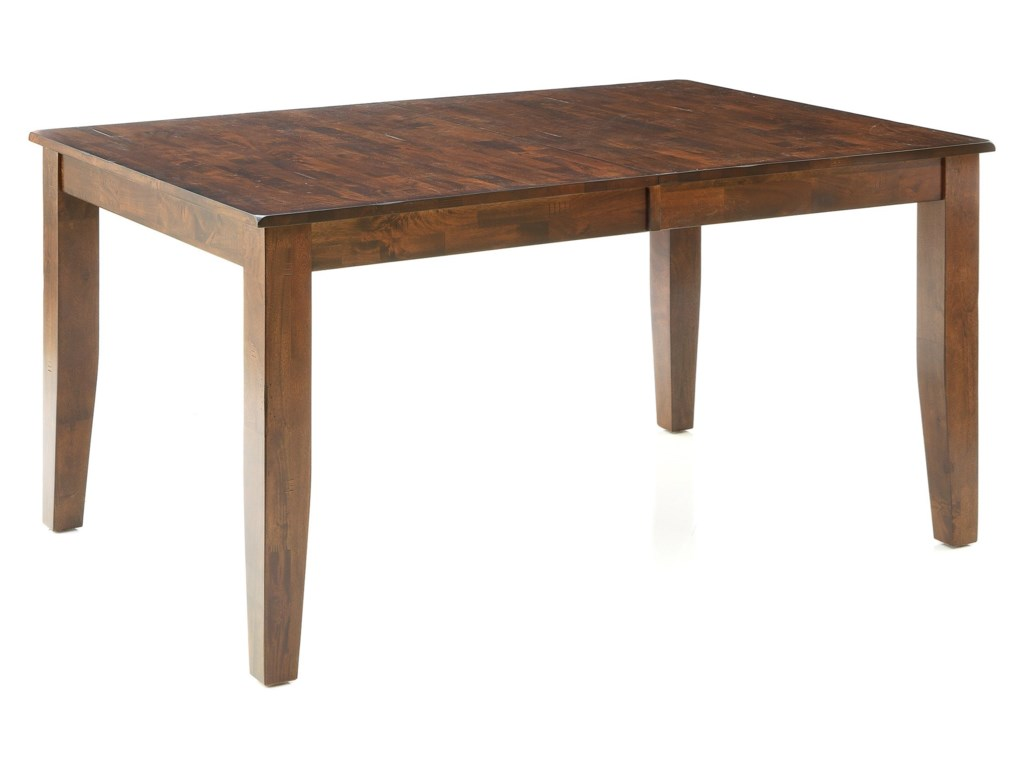 e52160c7ab0 Intercon Kona Solid Mango Wood Dining Table with Butterfly Leaf ...