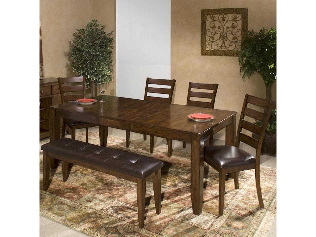 Kona 6 Piece Dining Room Set