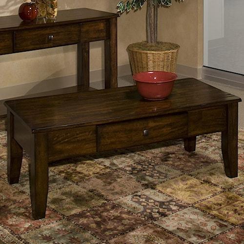 Belfort Select Cabin Creek Mango Wood Coffee Table
