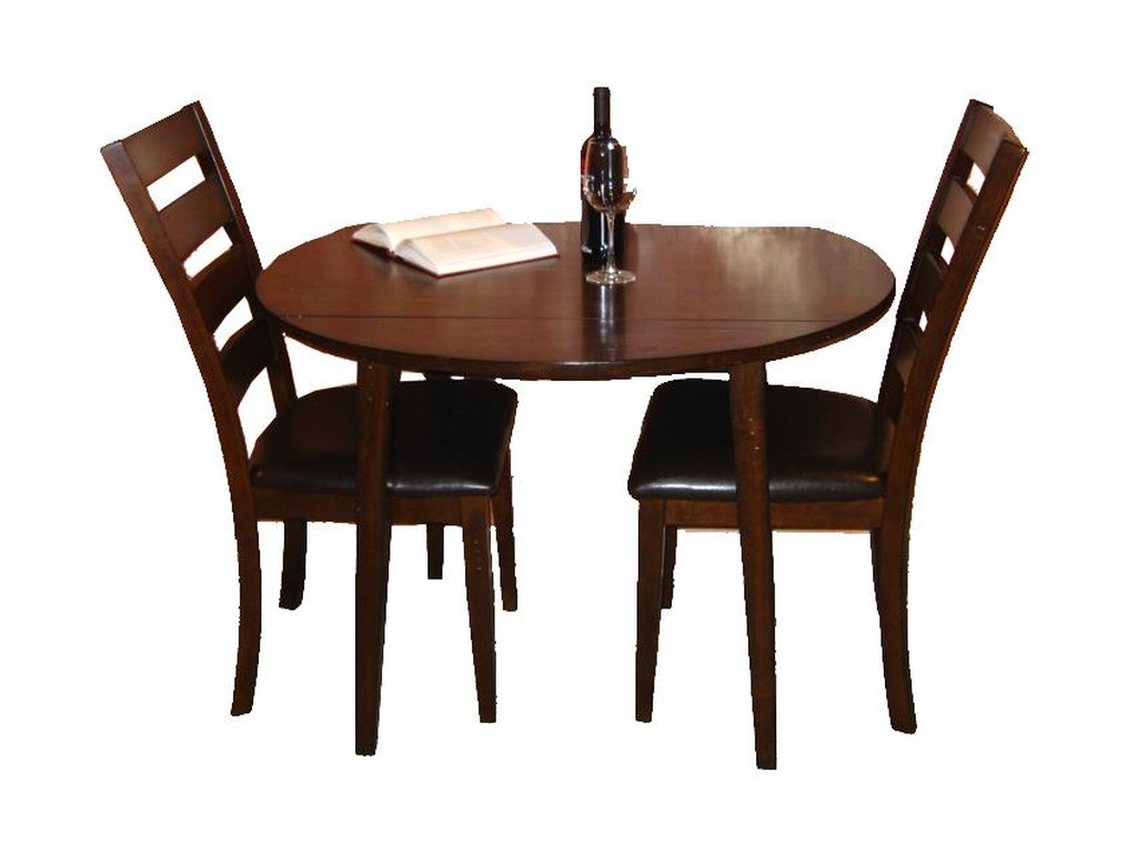 Intercon KonaDrop Leaf Dining Table and Chair Set
