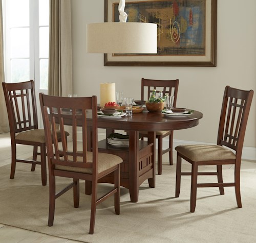 Intercon mission casuals oval dining table set with cushioned side intercon mission casuals oval dining table set with cushioned side chairs workwithnaturefo