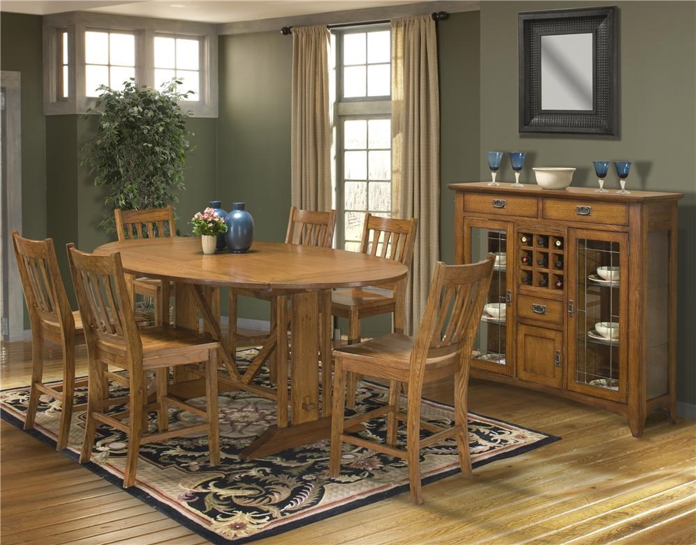 Shown With Table U0026 Chair Set; Intercon Mission Leopold54
