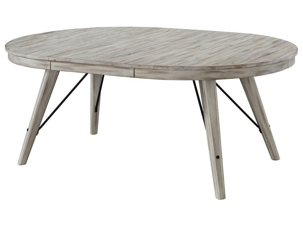 Intercon Modern Rustic Round Dining Table