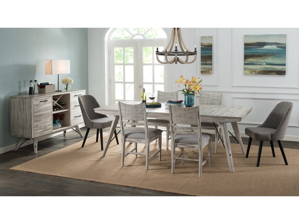 Intercon Modern Rustic Casual Dining Room Group