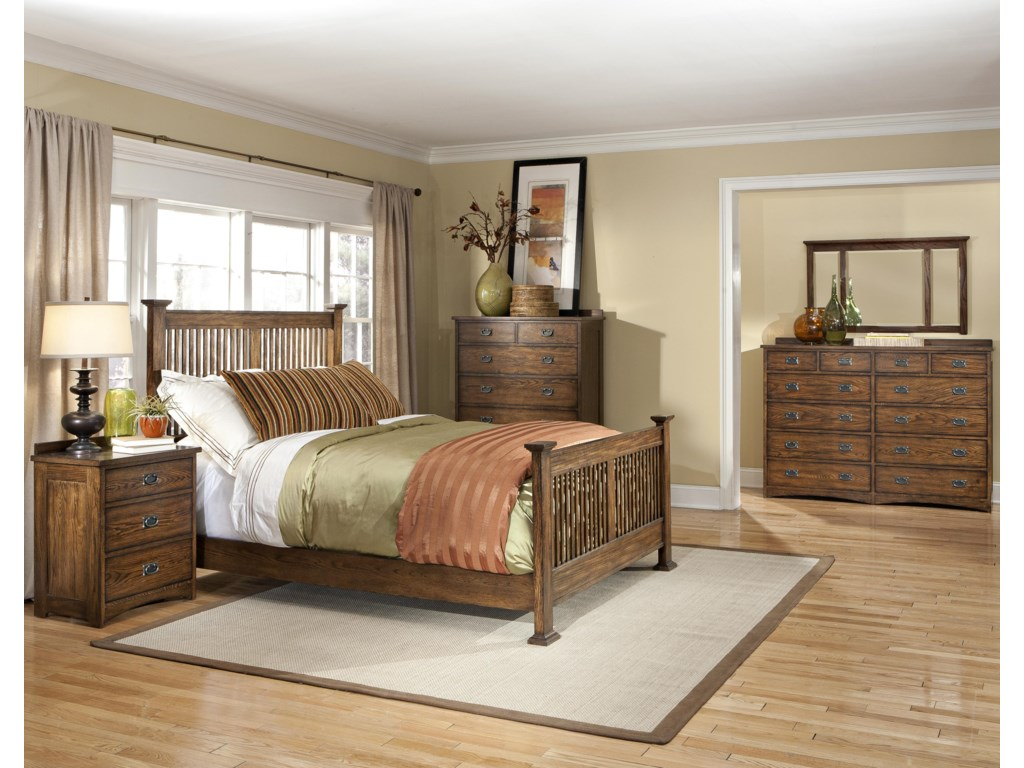 Shown with Nightstand, Rake Bed, and Chest of Drawers