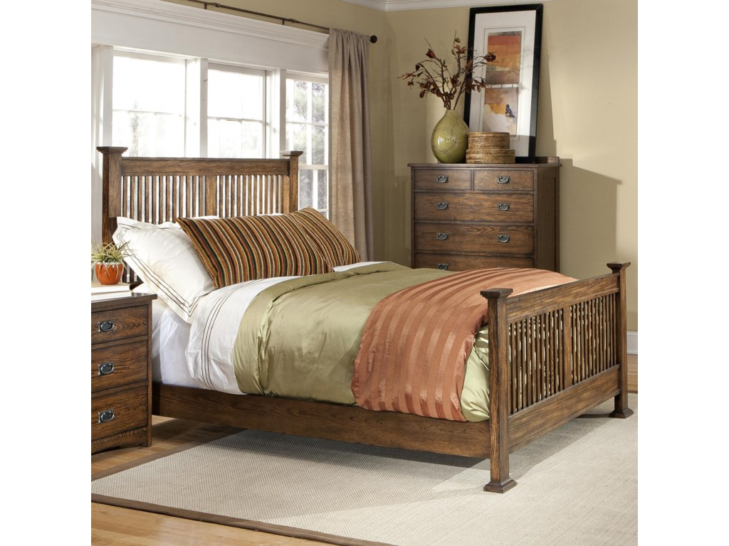 VFM Signature Oak ParkComplete King Bed