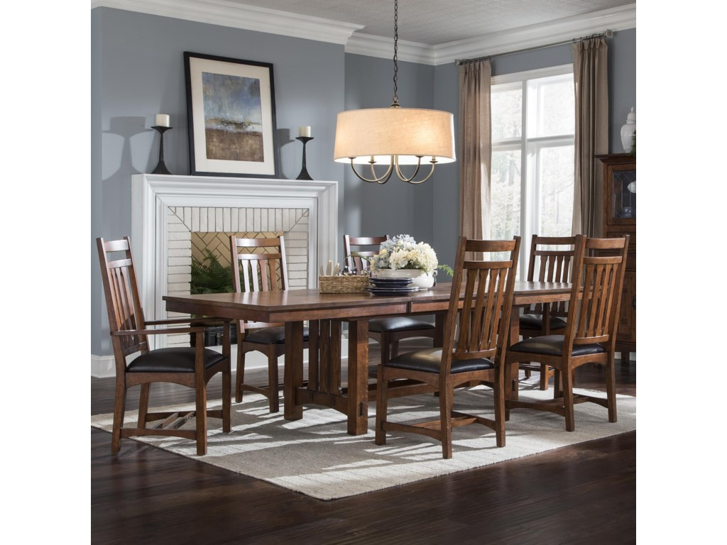 Intercon Oak Park7 Piece Dining Set