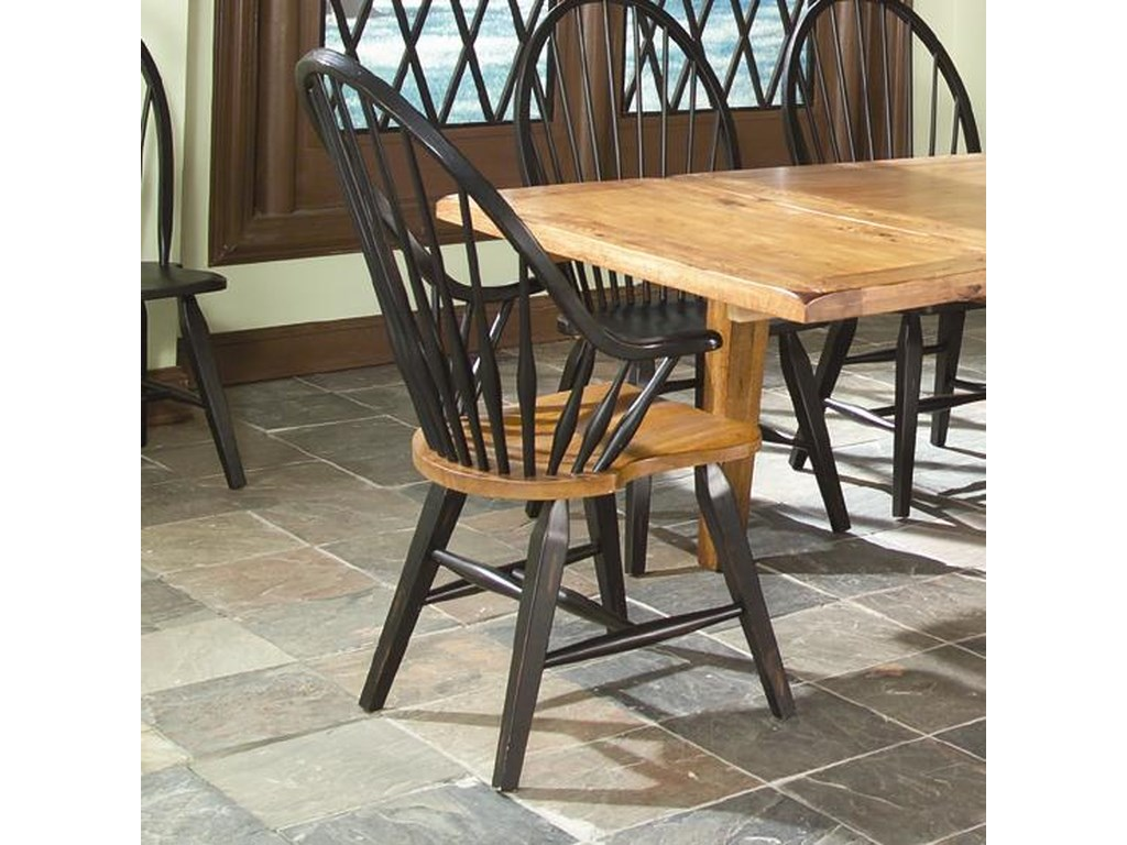 Intercon Rustic TraditionsRustic Windsor Arm Chair