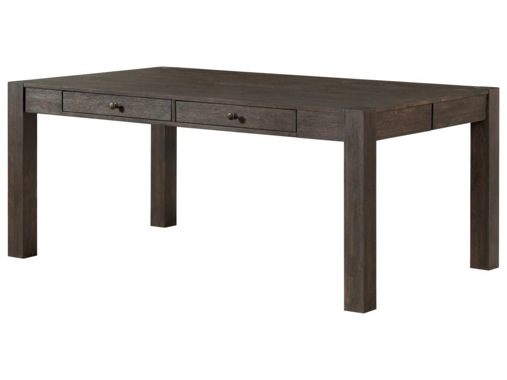 Salem Dining Table with 4 Drawers by Intercon at Wayside Furniture