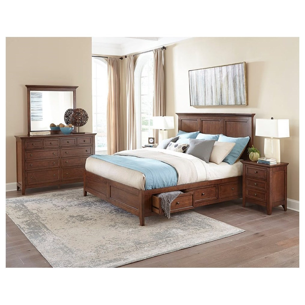Intercon San Mateo Queen Bedroom Group