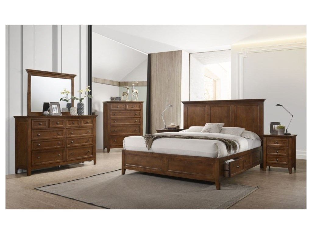 Intercon San MateoQueen Bedroom Group