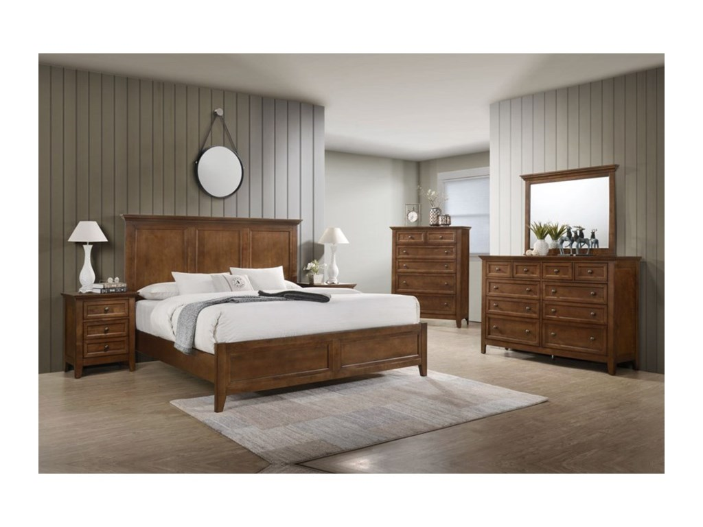 Intercon San MateoKing Bed