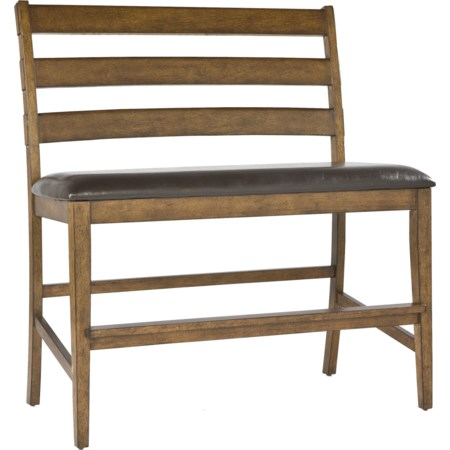 Ladder Back Bench