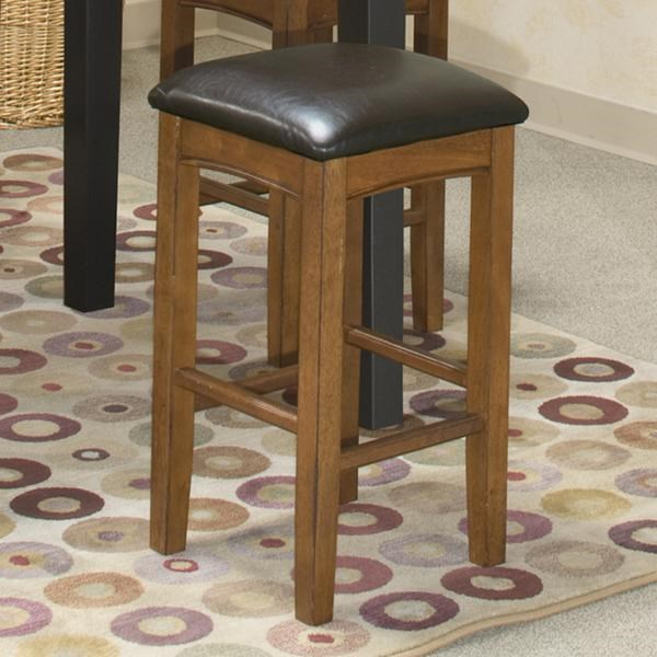 Intercon Siena 24 Backless Barstool W Upholstered Seat Wayside