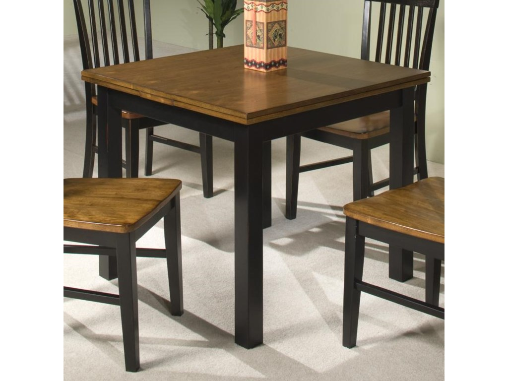 Intercon Siena Refectory Dining Table W Self Storing Leaves