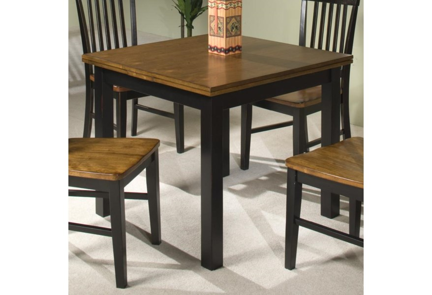 Intercon Siena Refectory Dining Table W Self Storing Leaves Fisher Home Furnishings Kitchen