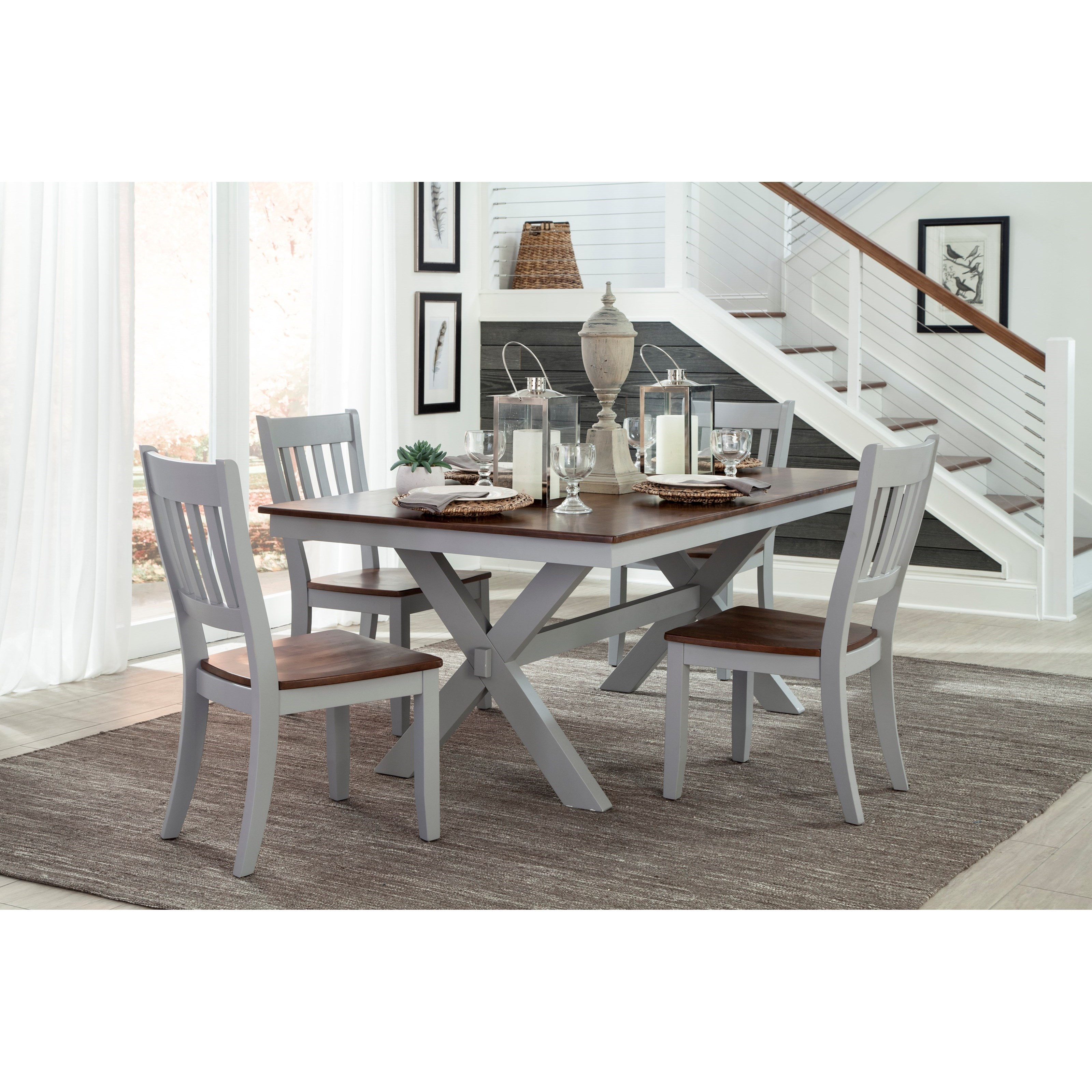 Intercon Small Space5 Piece Dining Set ...