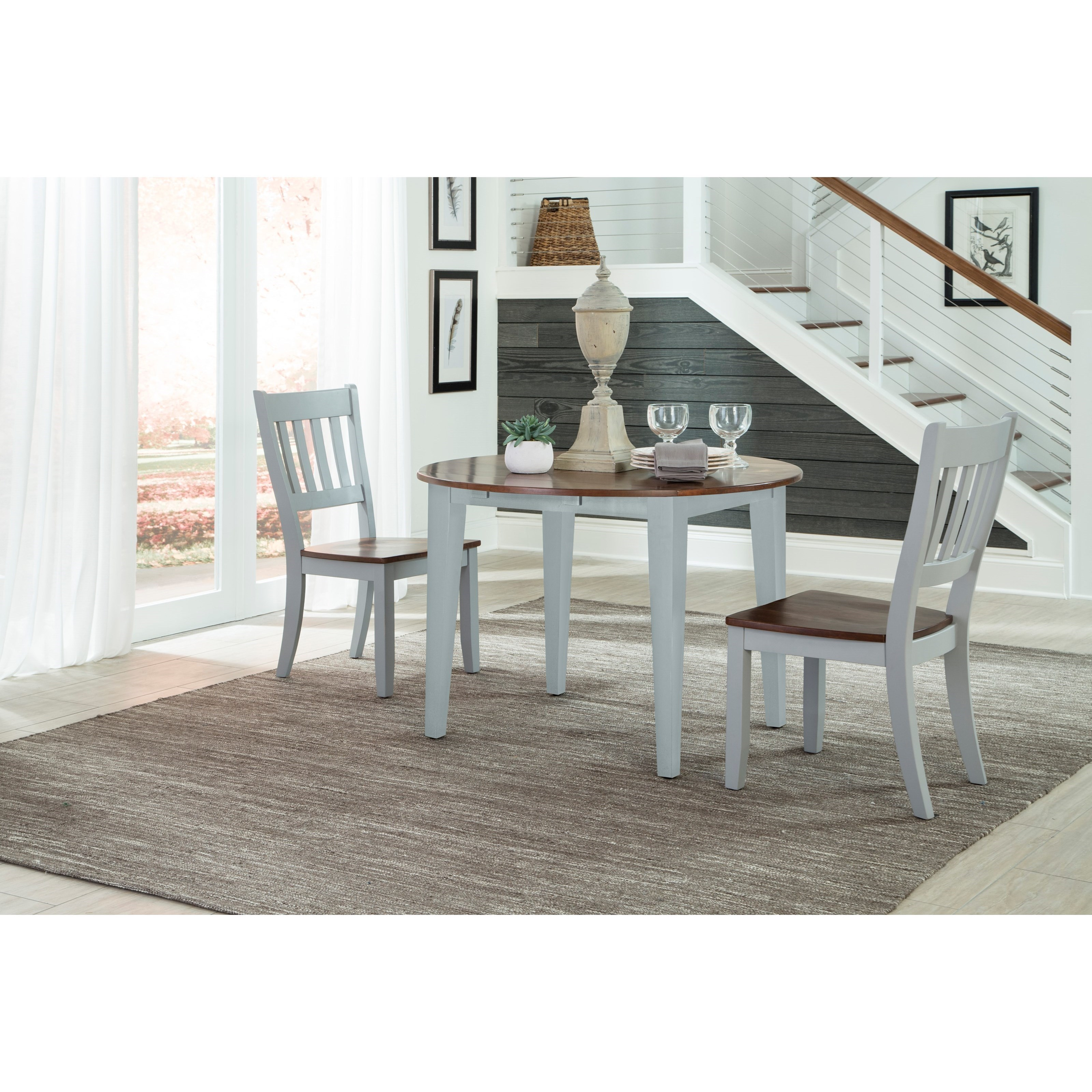 Intercon Small Space3 Piece Dining Set ...