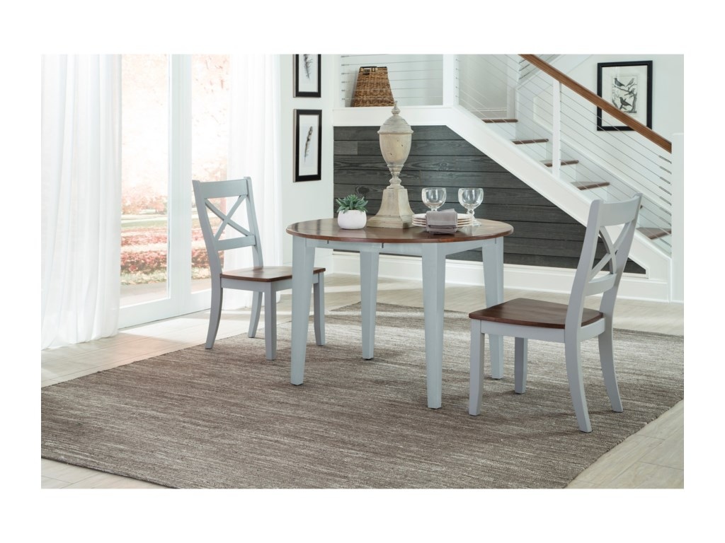 Intercon Small Space3 Piece Dining Set