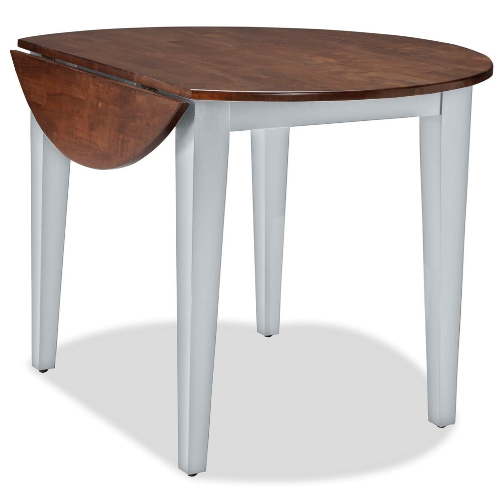 Intercon Small Space Ss Ta 42d Cyg C 42 Round Drop Leaf Table