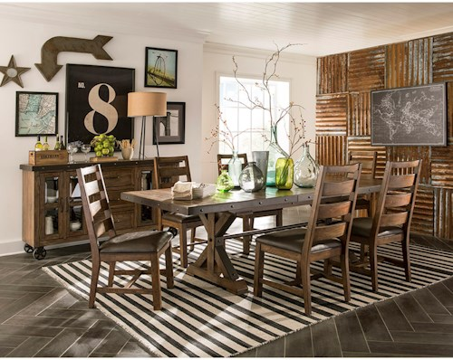 Wayside Dining Room Furniture: Intercon Taos Dining Room Group