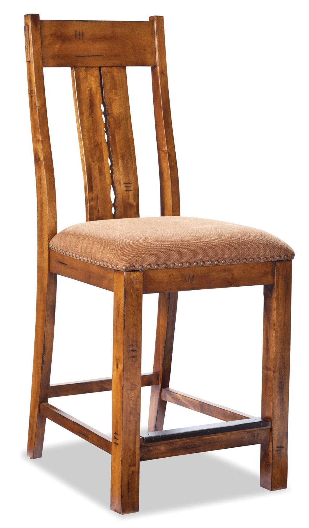 Vfm Signature Timberline 24 Inch Barstool With Splat Back And