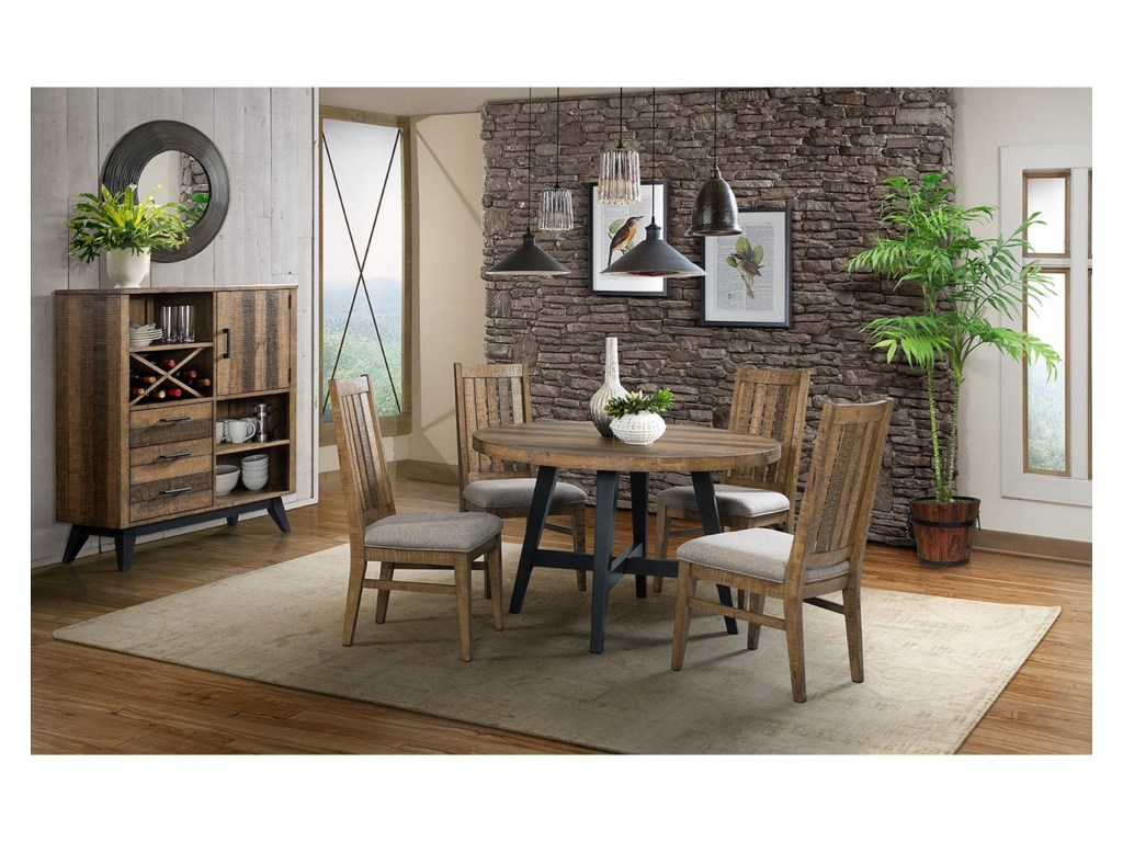 Intercon Urban Rustic Casual Dining Room Group