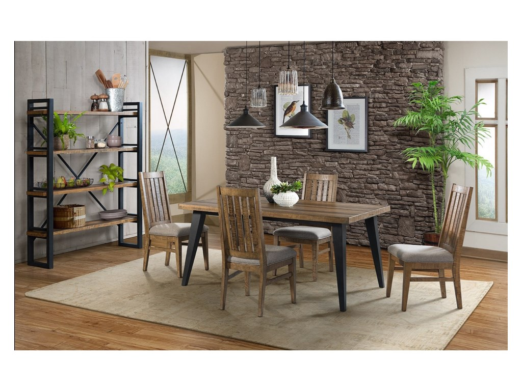 Intercon Urban Rustic Dining Side Chair