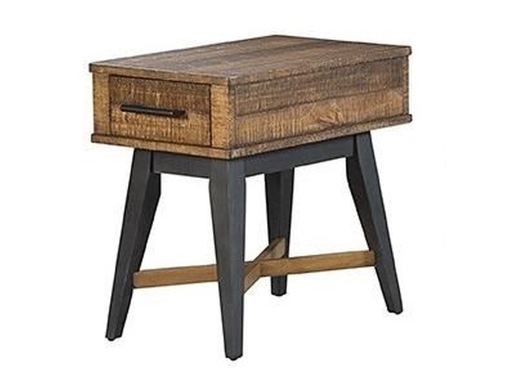 Intercon Urban Rustic Chairside Table
