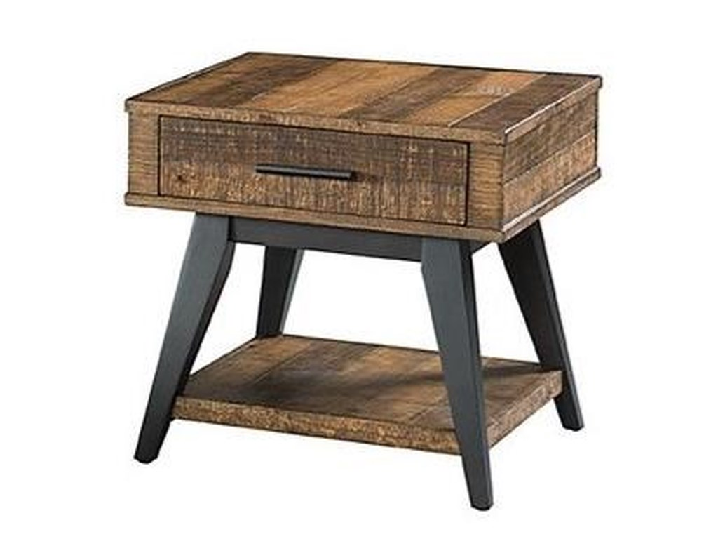 Intercon Urban Rustic End Table