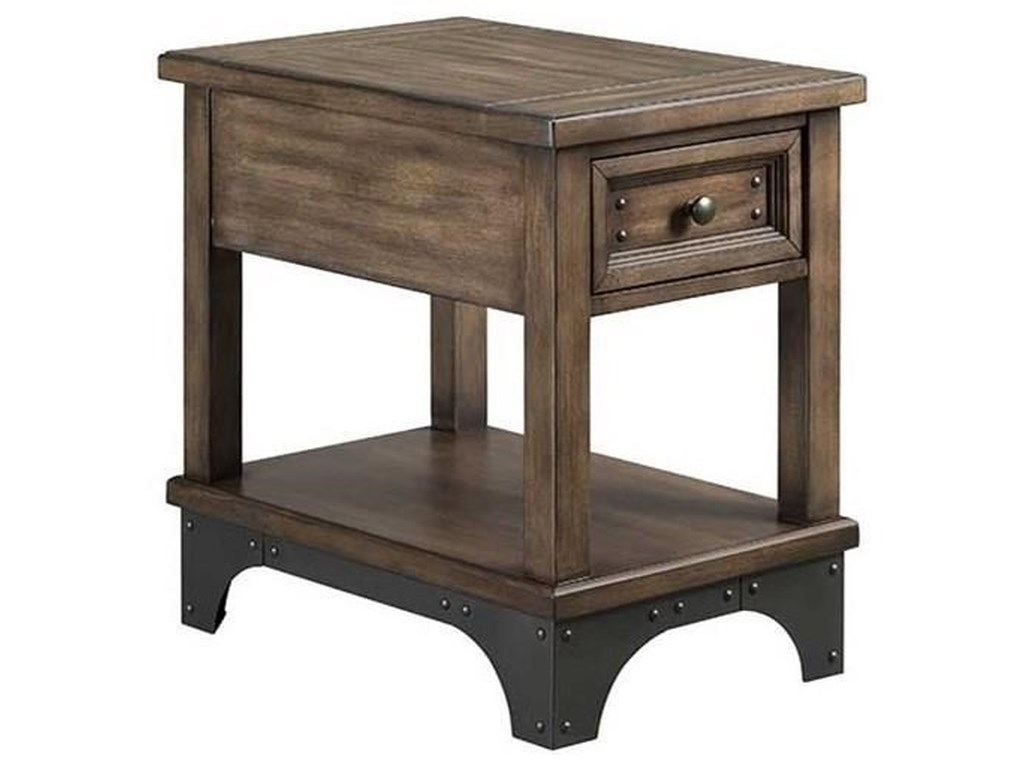 Intercon Whiskey River Chairside Table