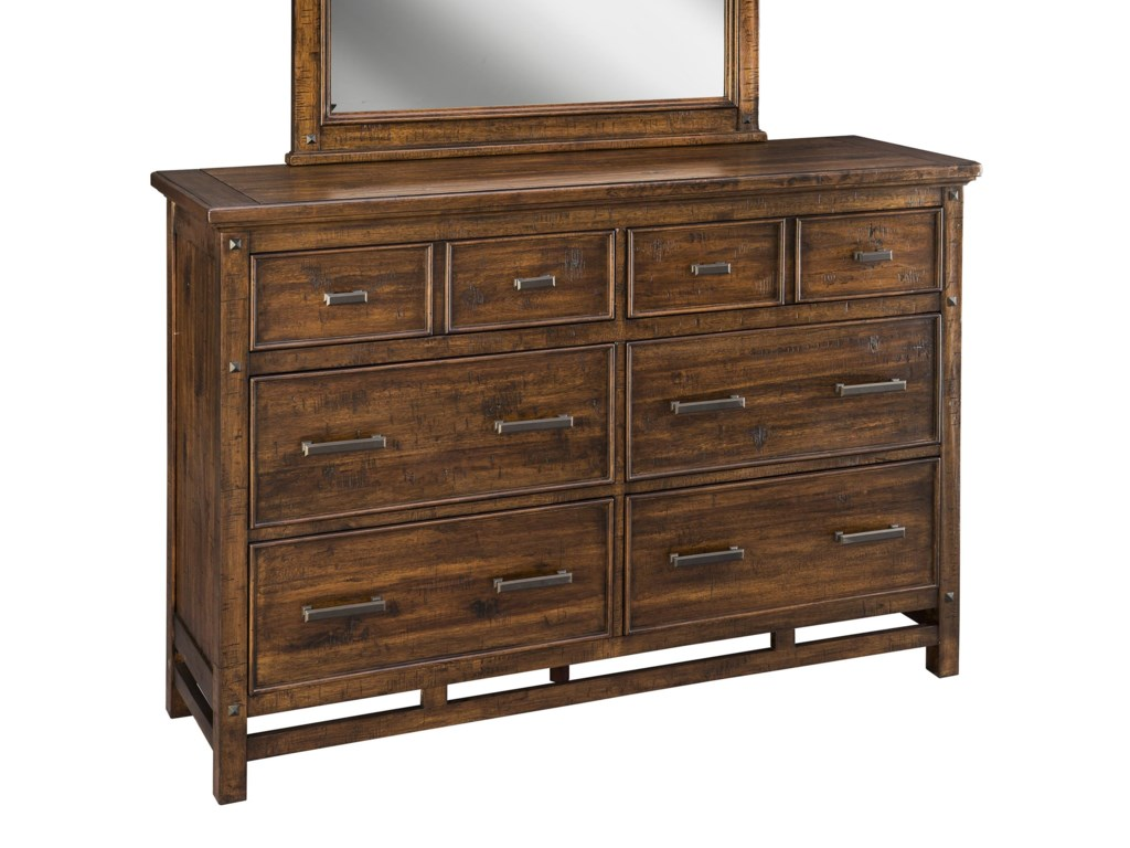 Intercon Wolf Creek6 Drawer Dresser