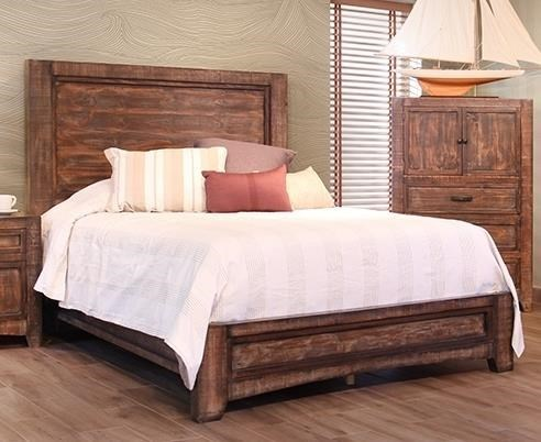 International Furniture Direct PortoQueen Bed