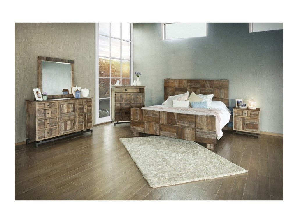 International Furniture Direct QueretaroKing Bedroom Group
