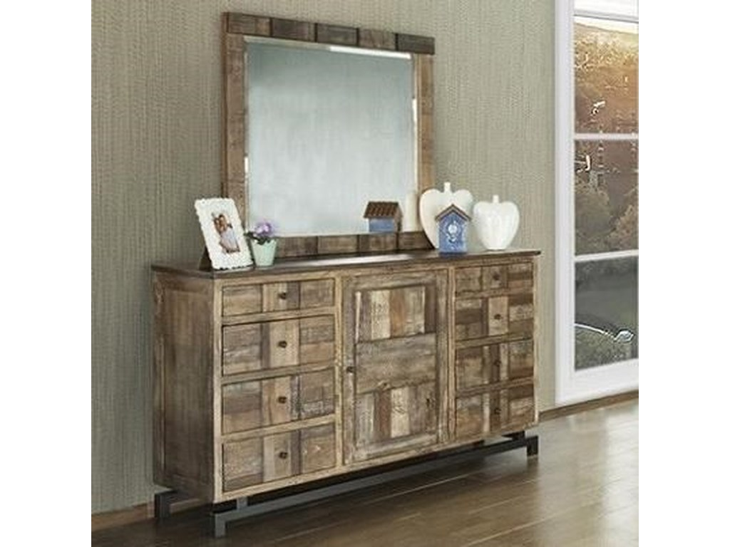 International Furniture Direct QueretaroDresser and Mirror