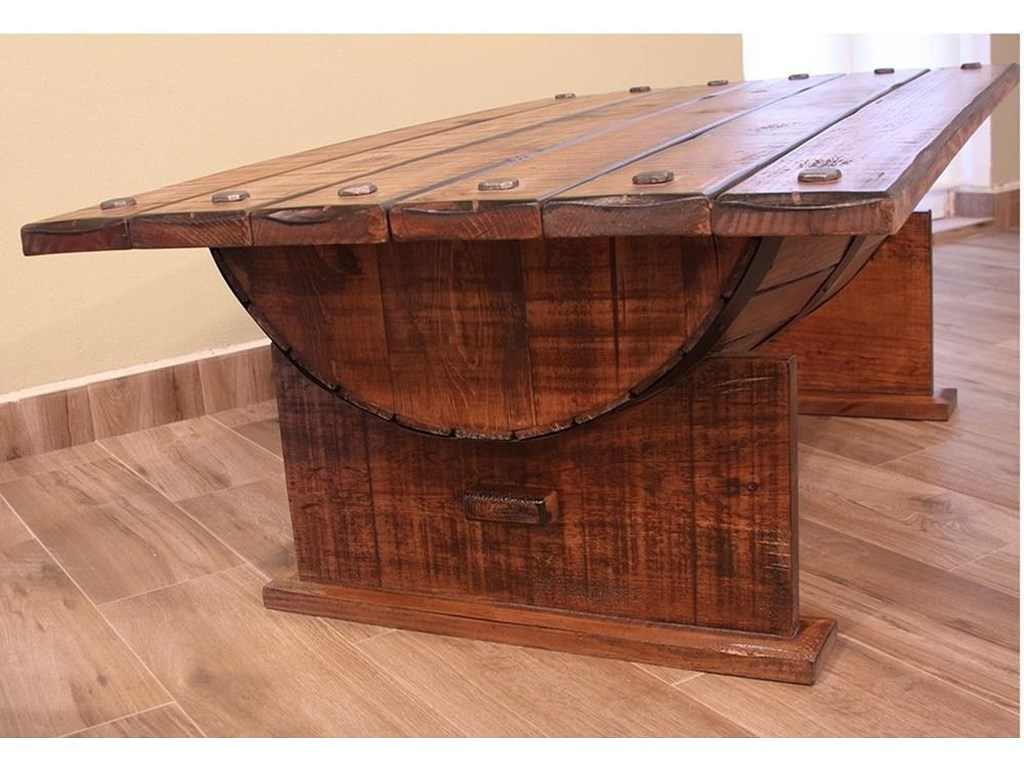 International Furniture Direct BourbonCocktail Table