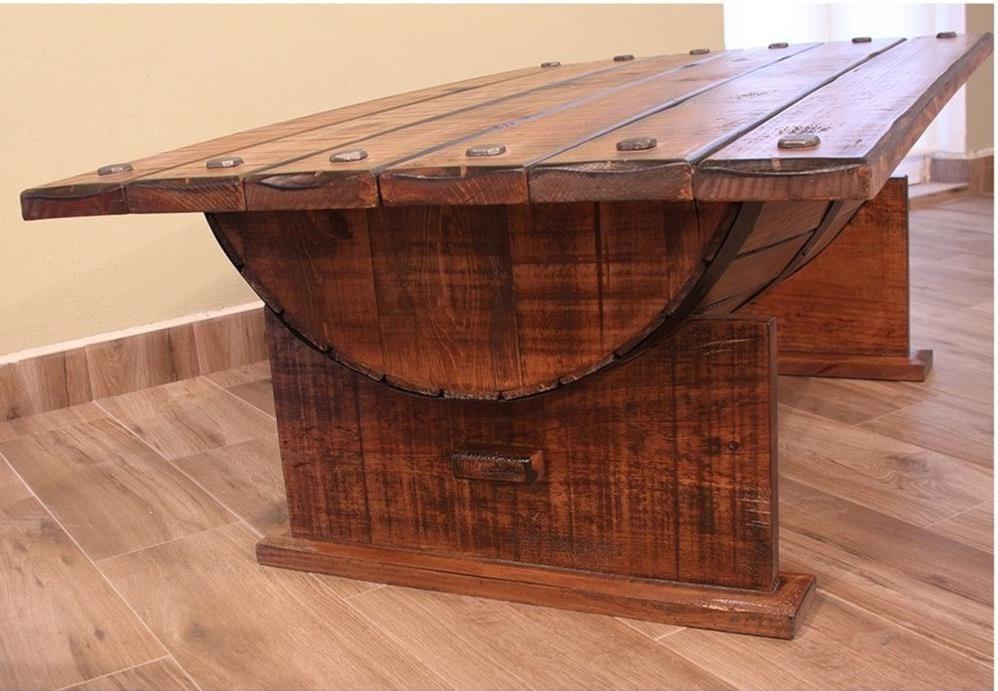 International Furniture Direct BourbonCocktail Table