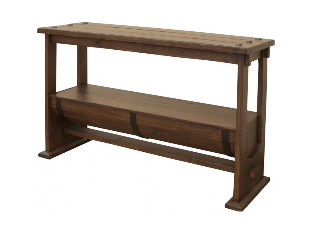 VFM Signature BourbonBarrel Console Table