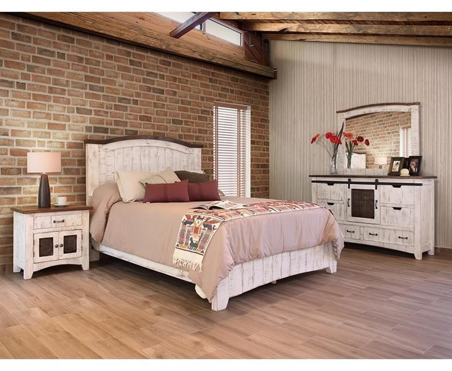 International Furniture Direct PuebloQueen Bedroom Group