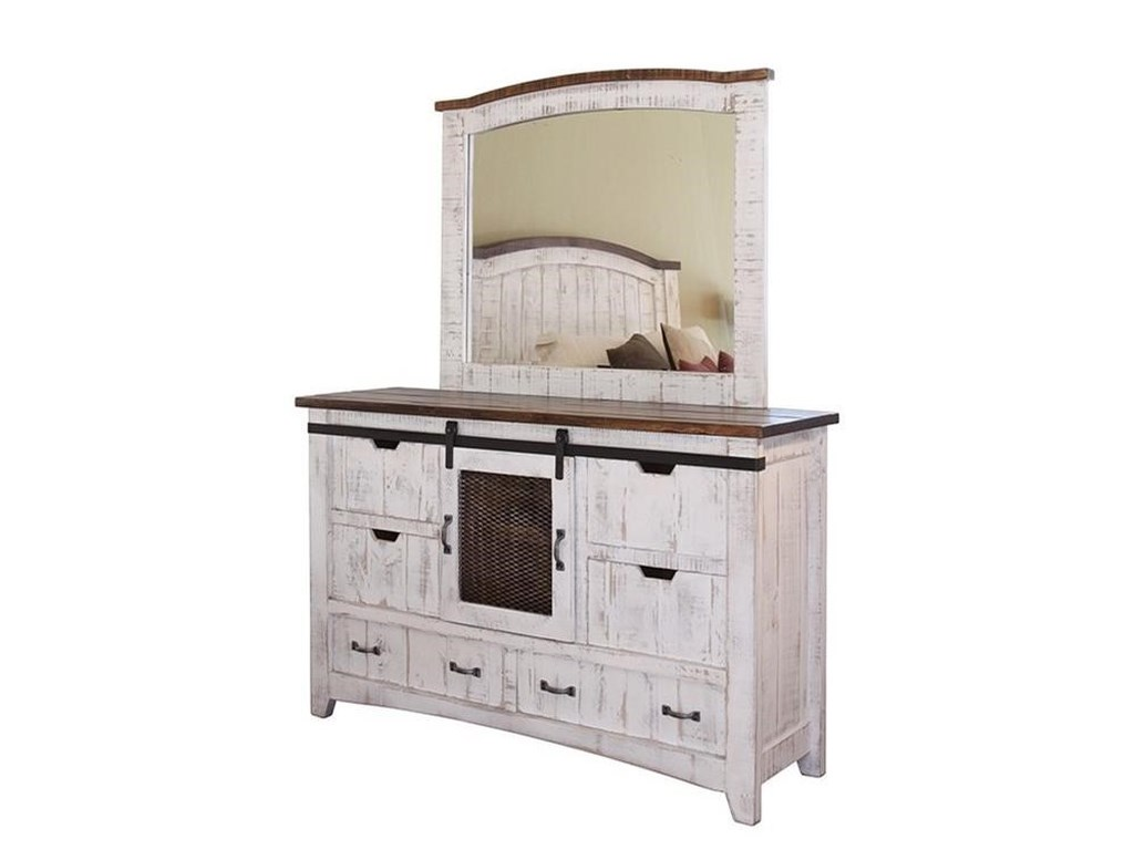 International Furniture Direct PuebloKing Bedroom Group